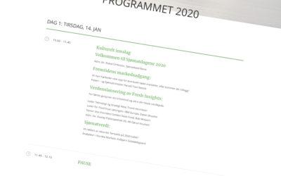 Programmet til SJØMATDAGENE 2020 er klart