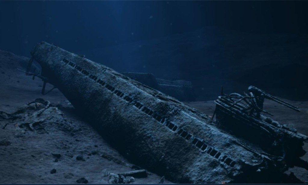 Sunket ubåt