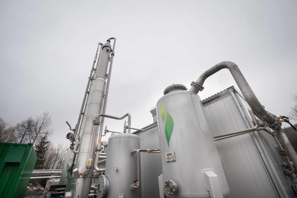 Biogass anlegg