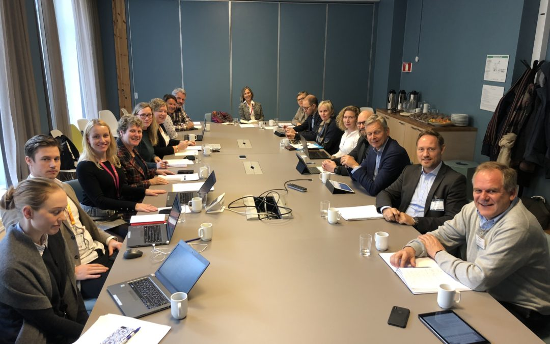 Bilaterale handelssaker på dagsorden i møte med Fiskeridepartemnetet
