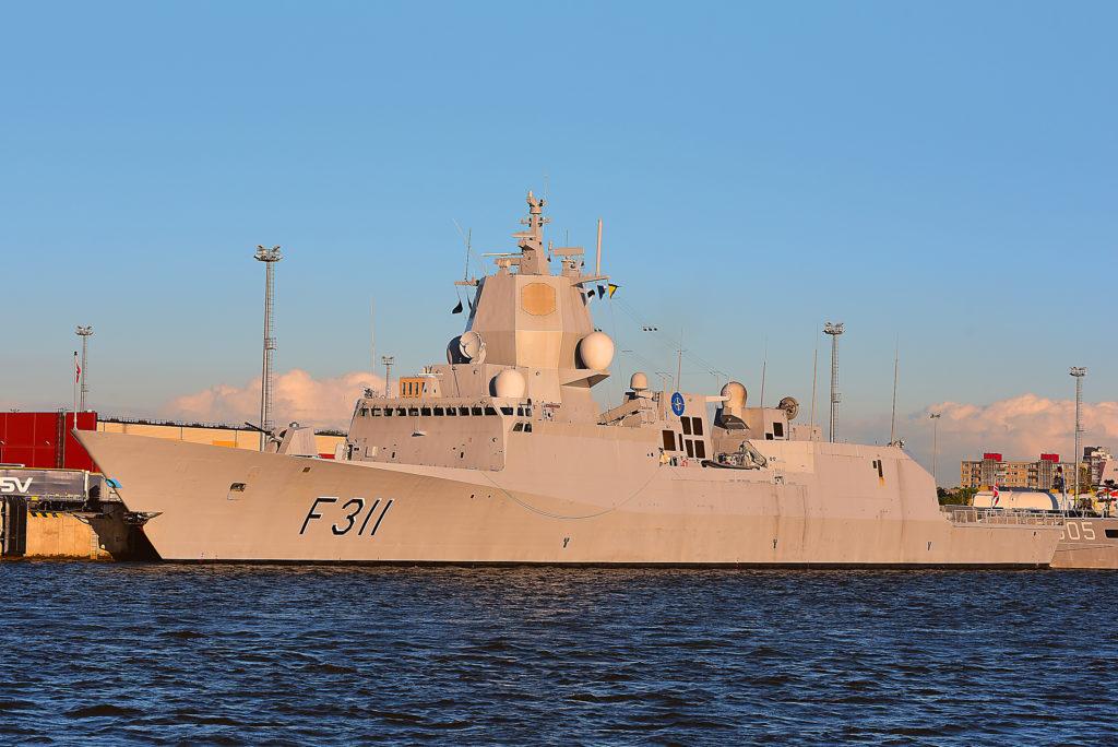 Fregatt fra marinen