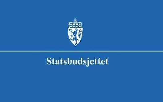 Logo statsbudsjettet