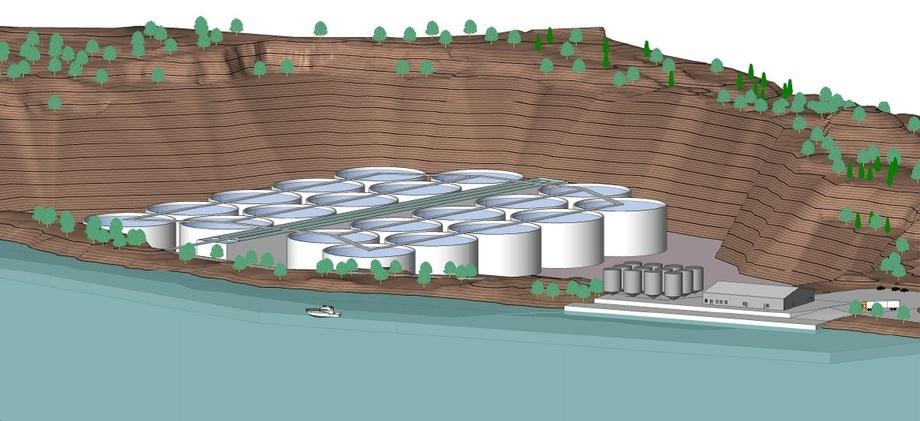 Nye landbaserte akvakulturanlegg skal etter 01.01.2018 gis brukstillatelse fra Fiskeridirektoratet