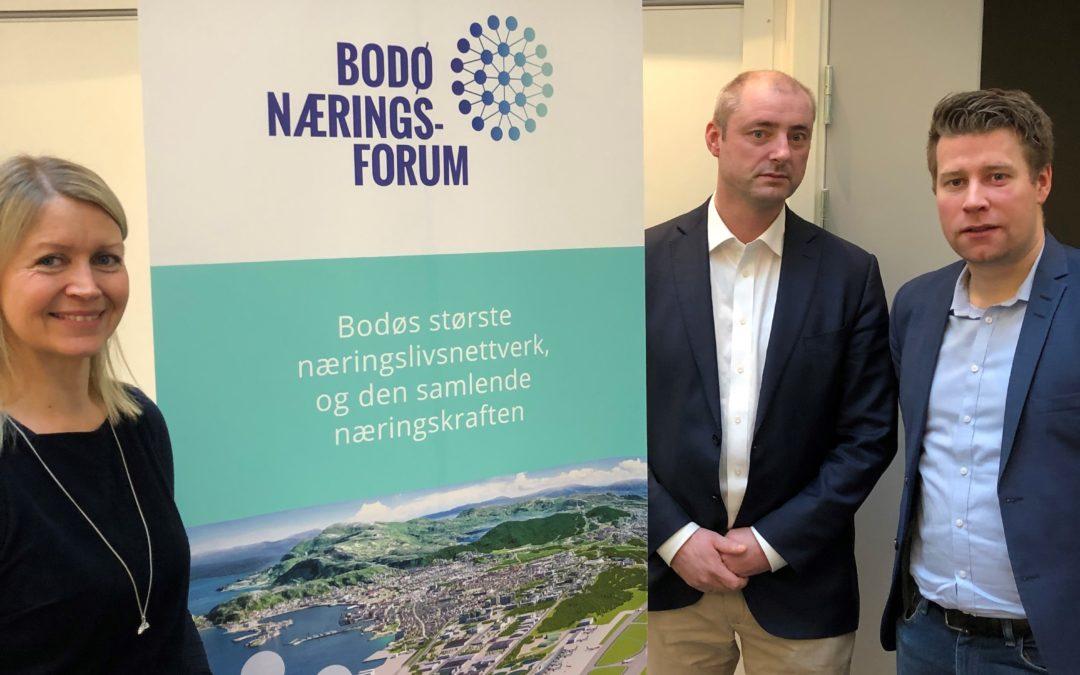 Nyttig møte i Bodø om utviklingen av ny flyplass