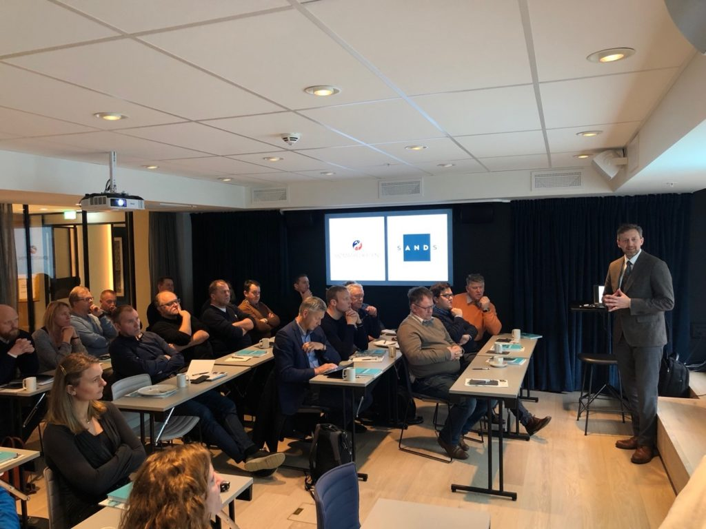 Deltagere arealseminar i Bergen