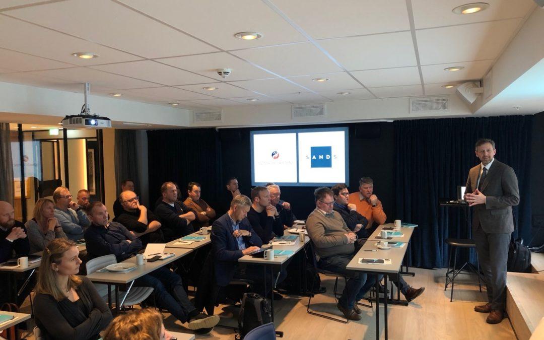 Vellykket Seminar om areal i sjø