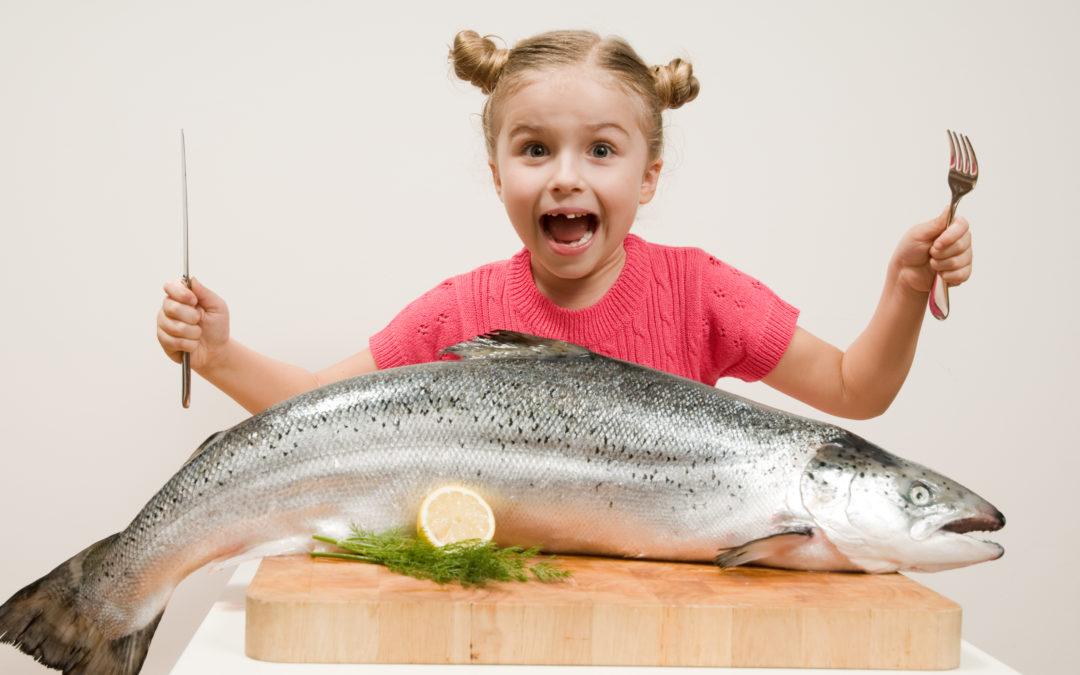 Barn i sør best i klassen på fiskekonsum