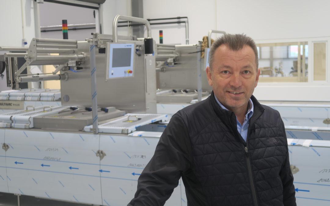 Isfjord på plass i nye fabrikklokaler i Orkdal