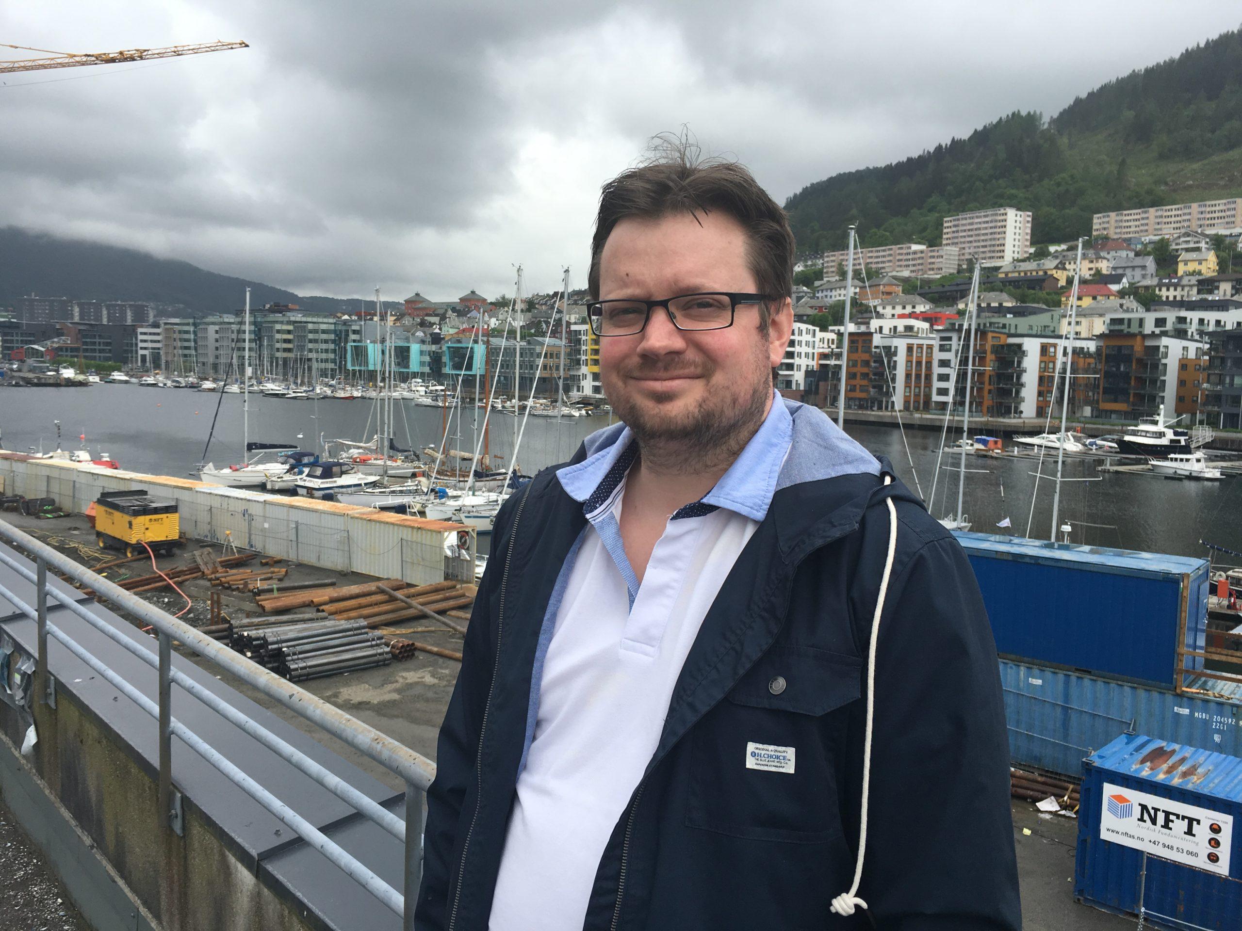 Øyvind Kråkås Daglig leder i havbrukspartner