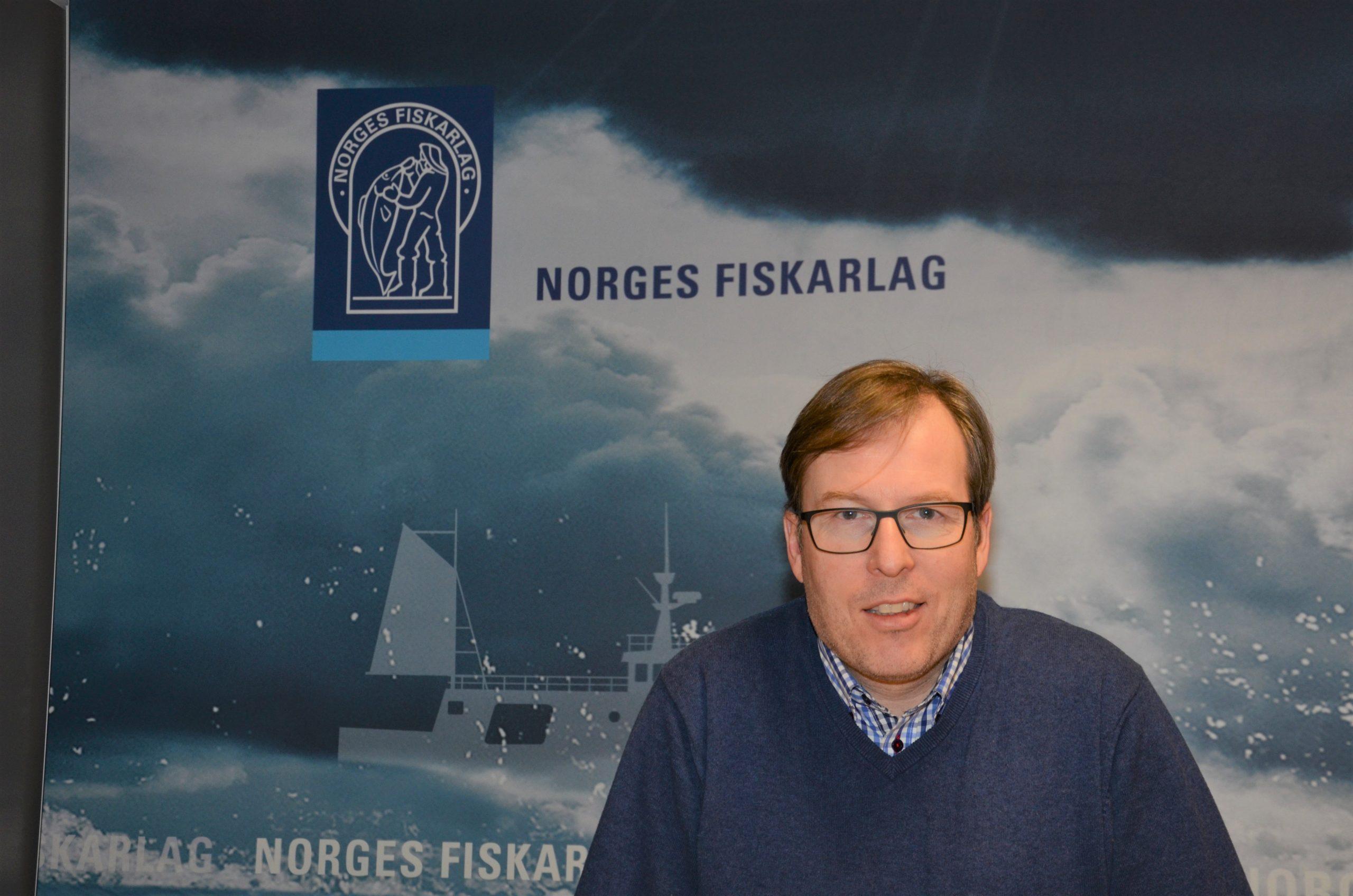 Jan Erik Indtrestrand i Norges Fiskarlag
