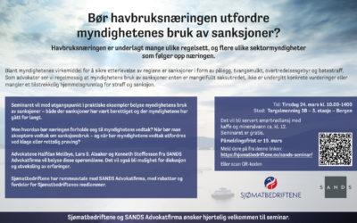 Bør havbruksnæringen utfordre myndighetenes bruk av sanksjoner?